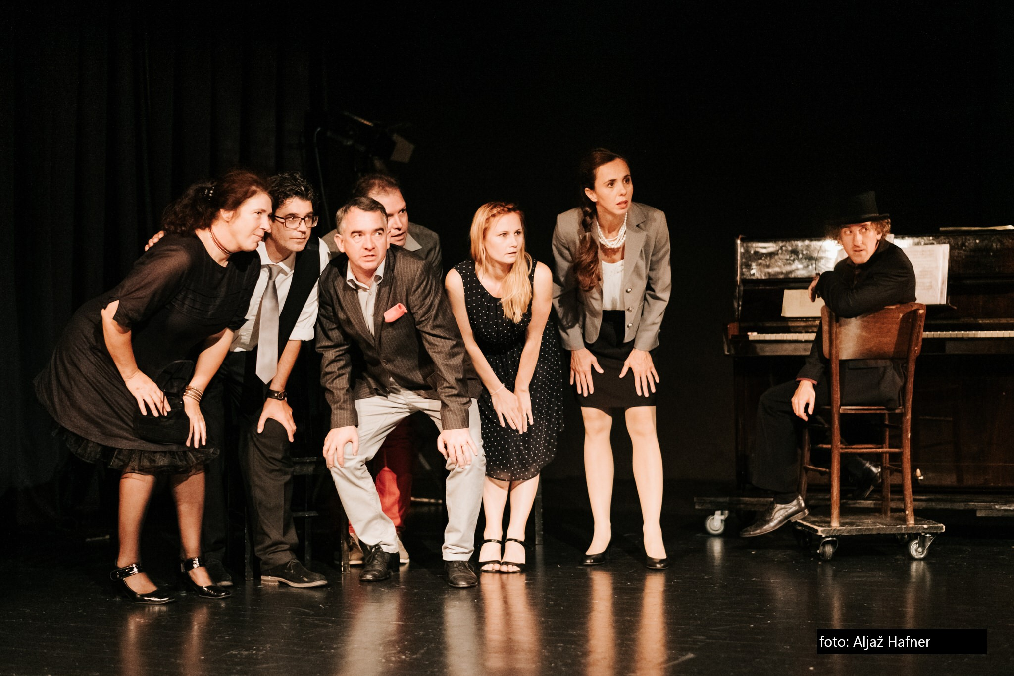 Slika s predstave (foto Aljaž Hafner)